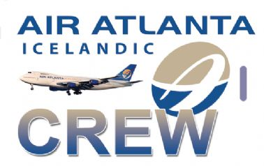 Air Atlanta Icelandic Crew Tag